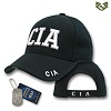 [Rapid Dominance] JW- Embroidered Law Enforcement Caps. CIA (Black) - ���ǵ� ���̳ͽ� ���߾������� ĸ���� (�?)