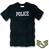 [Rapid Dominance] R57 Basic Felt Applique T-Shirts Police (Black) - ���ǵ� ���̳ͽ� �� ������ Ƽ���� (�?)
