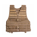 511 택티컬(511 Tactical) [5.11 Tactical] VTAC LBE (Load Bearing Equipment) Tactical Vest (FDE) -5.11 택티컬  VTAC LBE 전술 조끼