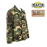 메이저 서플러스(Major Surplus) [Major Surplus&Survival] Mil-Spec Plus BDU Jackets (Woodland) - 밀스펙 플러스 BDU 자켓 (우드랜드)