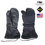 미군부대(GI) [OR] G.I Mutant Modular Mitt With Leather Pal GORETEX Gloves (Black) - 오알 고어텍스 벙어리 방수 장갑 (블랙)