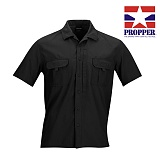 프로퍼(Propper) [Propper] CCMF Sonora Shirt Short Sleeve (Black) - 프로퍼 소노라 반팔 셔츠 (블랙)