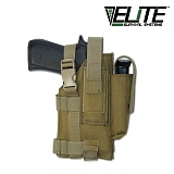엘리트서바이벌(Elite Survival System) [Elite Survival Systems] Tactical Belt Holster Right Hand (Coyote) - 택티컬 벨트 홀스터 오른손 잡이용 (코요테)