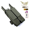 [Flyye] Molle Double Open Top Mag Pouch for MP7 (RG) - �ö��̿� ���� ���� ���� ž �� �Ŀ�ġ (RG)