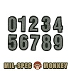 [Mil-Spec Monkey] Tac-Number (ACU) - �н��� ��Ű ��ġ ���� �ø��� (ACU)