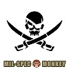 [Mil-Spec Monkey] PirateSkull Stencil - �н��� ��Ű ���̷�Ʈ ���� ���ٽ�