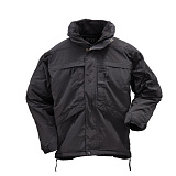 511 택티컬(511 Tactical) ★[5.11 Tactical] 3-IN-1 Parka (Black) - 5.11 택티컬 3-In-1 파카 (블랙)