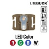 [Litebuck] LED with Molle System Module (Coyote) - ����Ʈ�� LED����Ʈ with ���� �ý��� ��� (�ڿ���)
