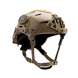 팀웬디(TEAMWENDY) [TEAM WENDY] EXFIL Carbon Tactical Bump Helmet (TAN) - 팀웬디 카본 택티컬 범프 헬멧 (TAN)