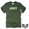 [Rapid Dominance] R54 Felt Applique Military T-Shirts Army (Olive) - ���ǵ� ���̳ͽ� �̱� �ø��� ������ Ƽ���� (�ø���)