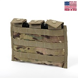 미군부대(GI) MOLLE M4/M16 Triple Magazine Pocket (MULTICAM) - 몰리 M4/M16 트리플 탄창 파우치 (NEW/MULTICAM)