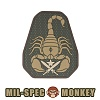 [Mil-Spec Monkey] Scorpion Unit PVC (Multicam) - �н��� ��Ű �����ǿ� ���� PVC (��Ƽķ)