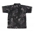 위에마이(yuemai) [Yuemai] Tactical Tshirt With Colla  (Snake Camo Black) - 위에마이 택티컬 카라 반팔 티셔츠  (Snake Camo Black)