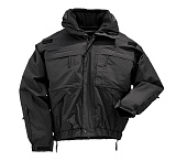 511 택티컬(511 Tactical) ★[5.11 Tactical] 5 IN 1 Jacket (Black) - 5.11 택티컬 5 IN 1 자켓 (블랙)