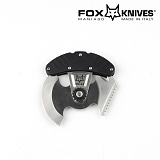 폭스나이프(Fox knife) [Fox Knife] 2 ULU Outdoor Tool (Black) - 폭스나이프 2 ULU 아웃도어 툴 (Black)