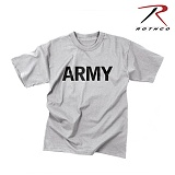 로스코(Rothco) [Rothco] Army Moisture Wicking PT T Shirt - 로스코 아미 투습기능 PT 티셔츠