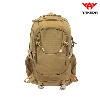 야케다(YAKEDA) [Yakeda] Traveling Shoulders Backpack (Coyote) - 야케다 여행용 배낭 (코요테)