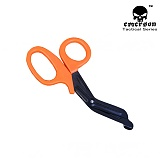 에머슨(EMERSON) [Emerson] EMT Tactical Medical Color Scissors (Orange) - 에머슨 7 1/2 EMT용 컬러 가위 (오렌지)