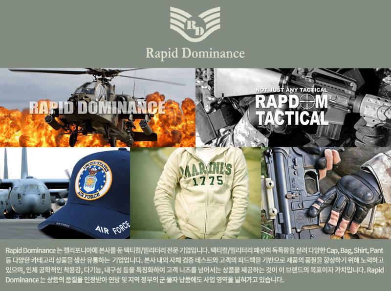 라피드 도미넌스(RAPID DOMINANCE) 짚 비니 (ACU)